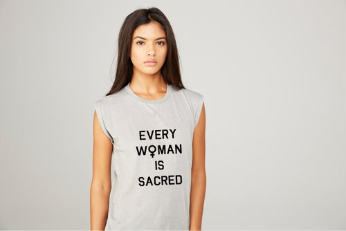 Image of Every Woman Is Sacred - muscles