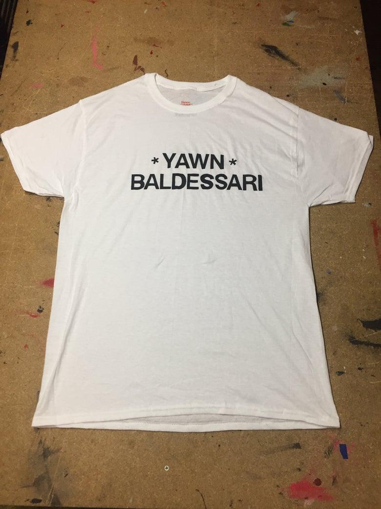 Image of *Yawn* Baldessari