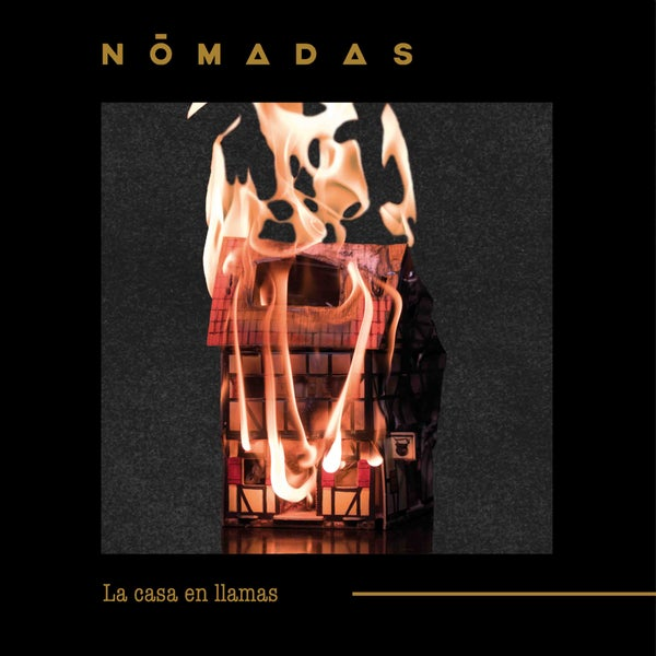 """Image of CD """"La casa en llamas"""" / Nōmadas"""