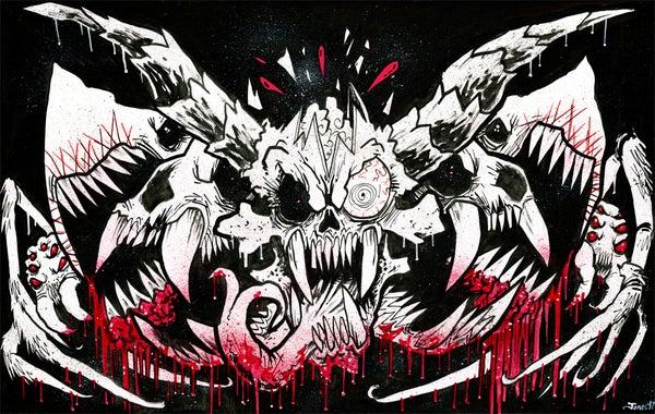 Image of 'Blood Emblem' Original Painting