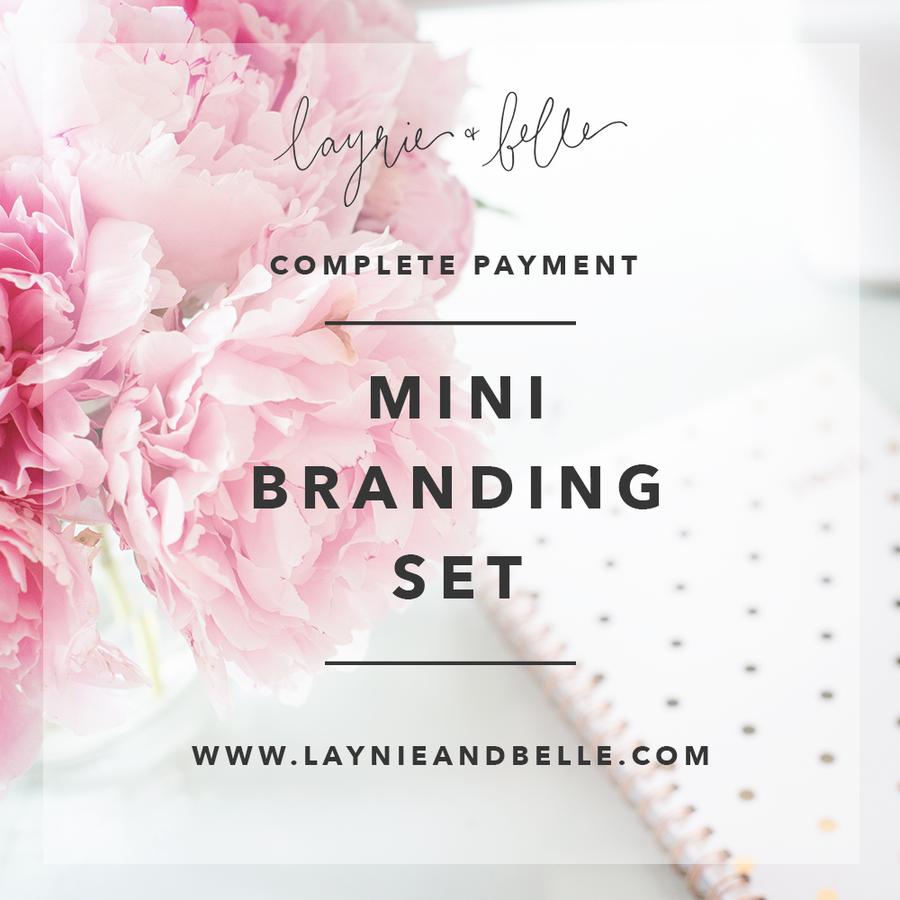 Image of Mini Branding Set
