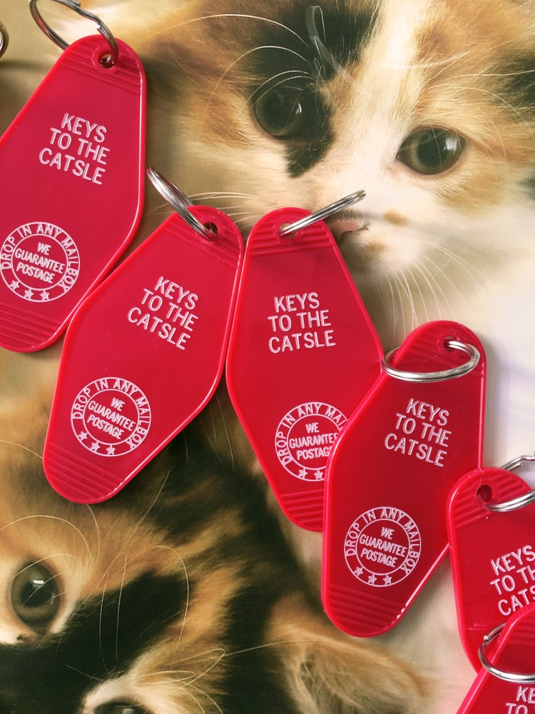 Image of Keys to the Catsle- Key Fob