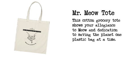 Image of Mr. Meow Tote