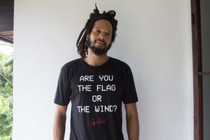 Image of ARE YOU THE FLAG OR THE WIND? T-Shirt Unisex