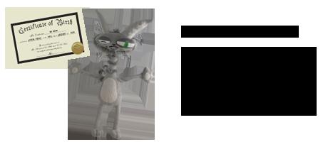 Image of Mr. Meow Plush