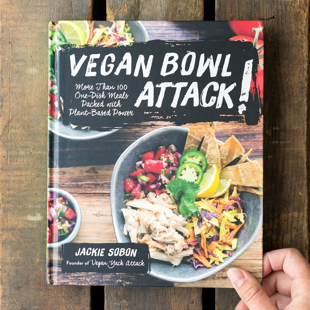 Image of Signed Copy of Vegan Bowl Attack!
