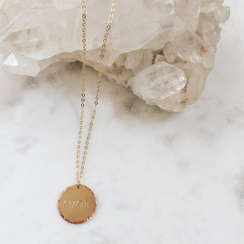 Image of Custom Coin Necklace