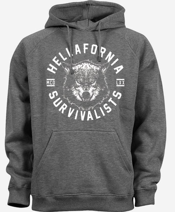 Image of survivalists hoodie