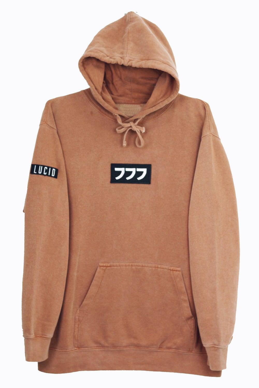 Image of lucid logo hoodie vol. II [yam]