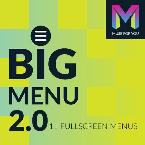 Image of BIG Menu Widget