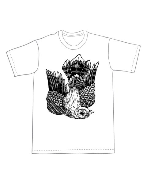 Image of Flying Whippoorwill T-shirt **FREE SHIPPING**