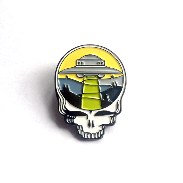 Image of Steal Your Ufo Enamel Pin