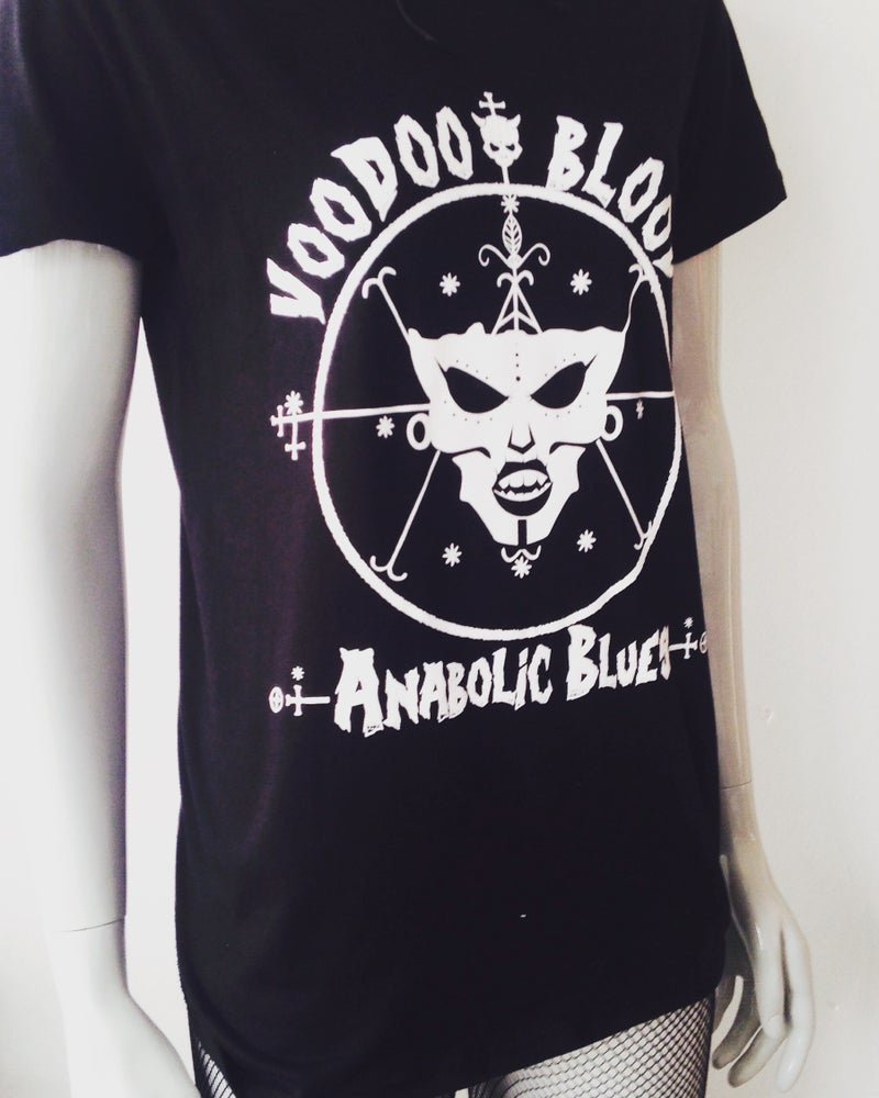 Image of Official Voodoo Blood - Anabolic Blues (unisex t shirt)