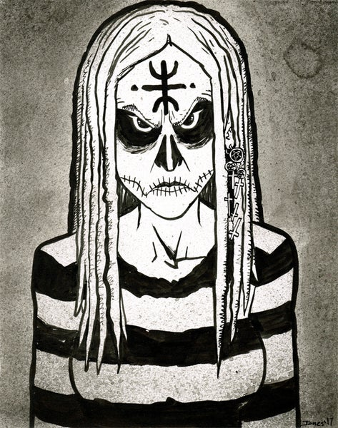 Image of 'The Lords of Salem' Original Painting