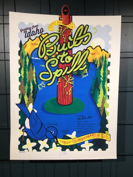 Image of Built To Spill w/ Love as Laughter Poster