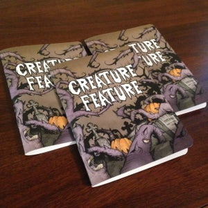 Image of Limited Edition Creature Feature Pocket Notebook (Writing/Lined Or Sketching/Blank))