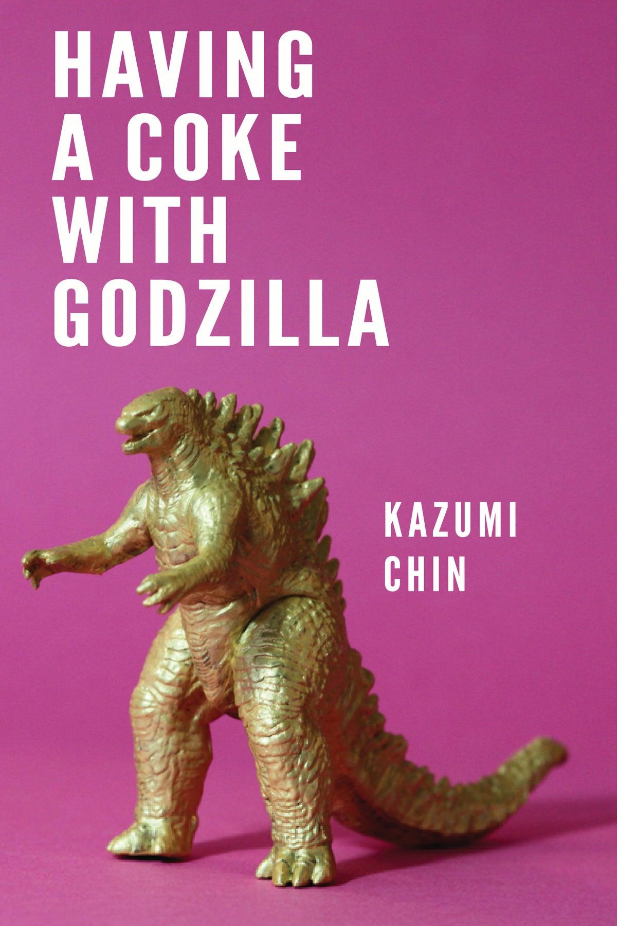 Image of Having a Coke with Godzilla by Kazumi Chin *PRE-ORDER*