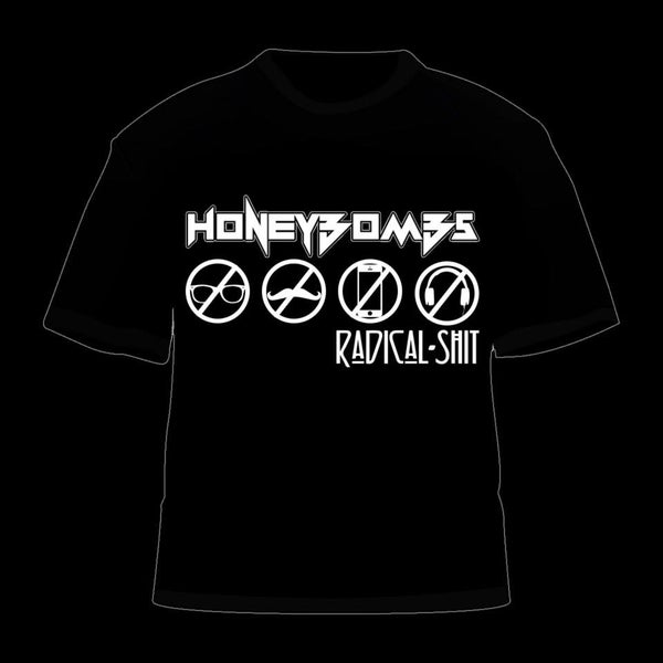 Image of HoneyBombs - Radical Shit t-shirt
