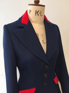 Image of Miss Agnes long line swing jacket
