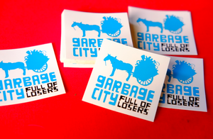 Image of GARBAGE CITY f.o.l. STICKERPACK