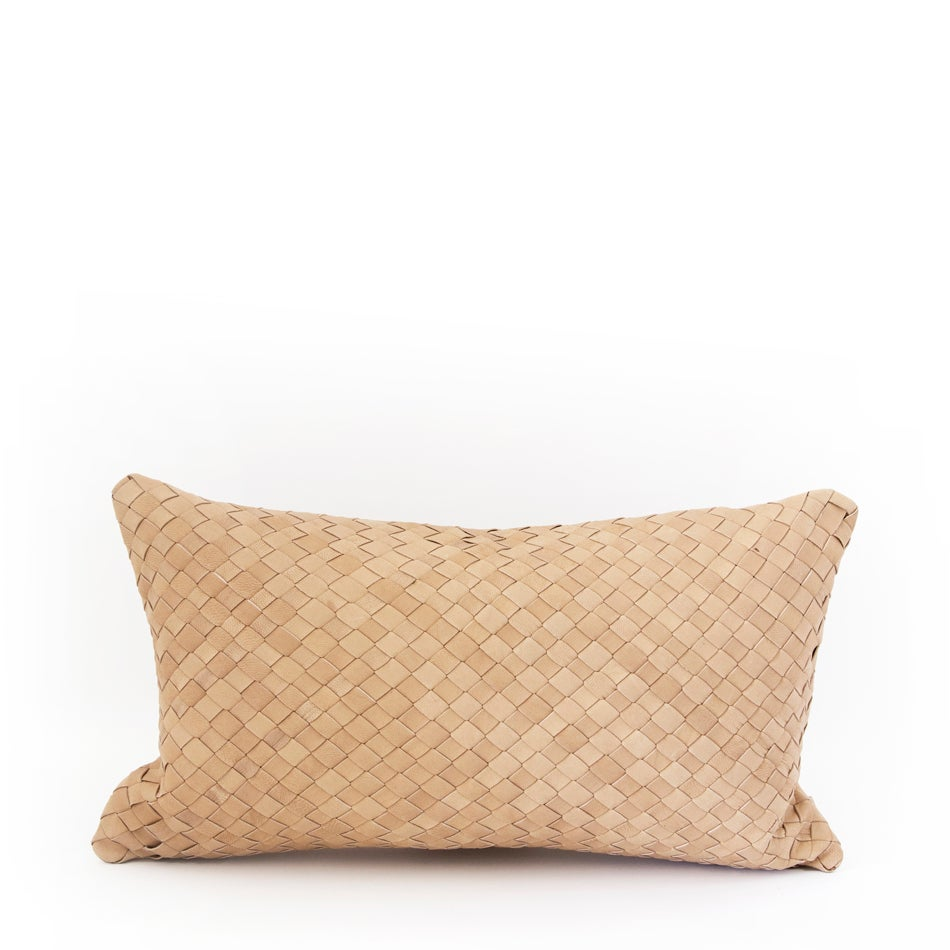 Image of Entwined Love Natural Cushion