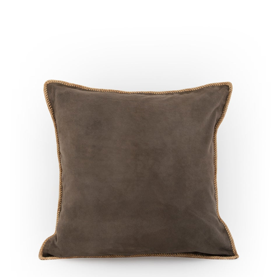Image of Hidden Dreams Suede Mocha Cushion