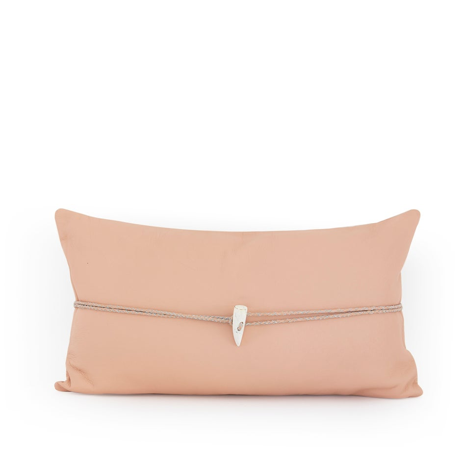 Image of Lone Warrior Blush Cushion