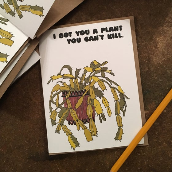 Image of Unkillable Plant Card