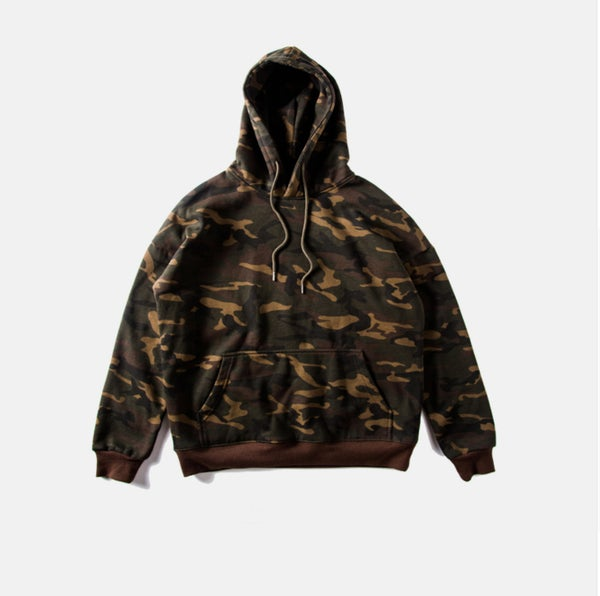 Image of Army Pullover Hoodie