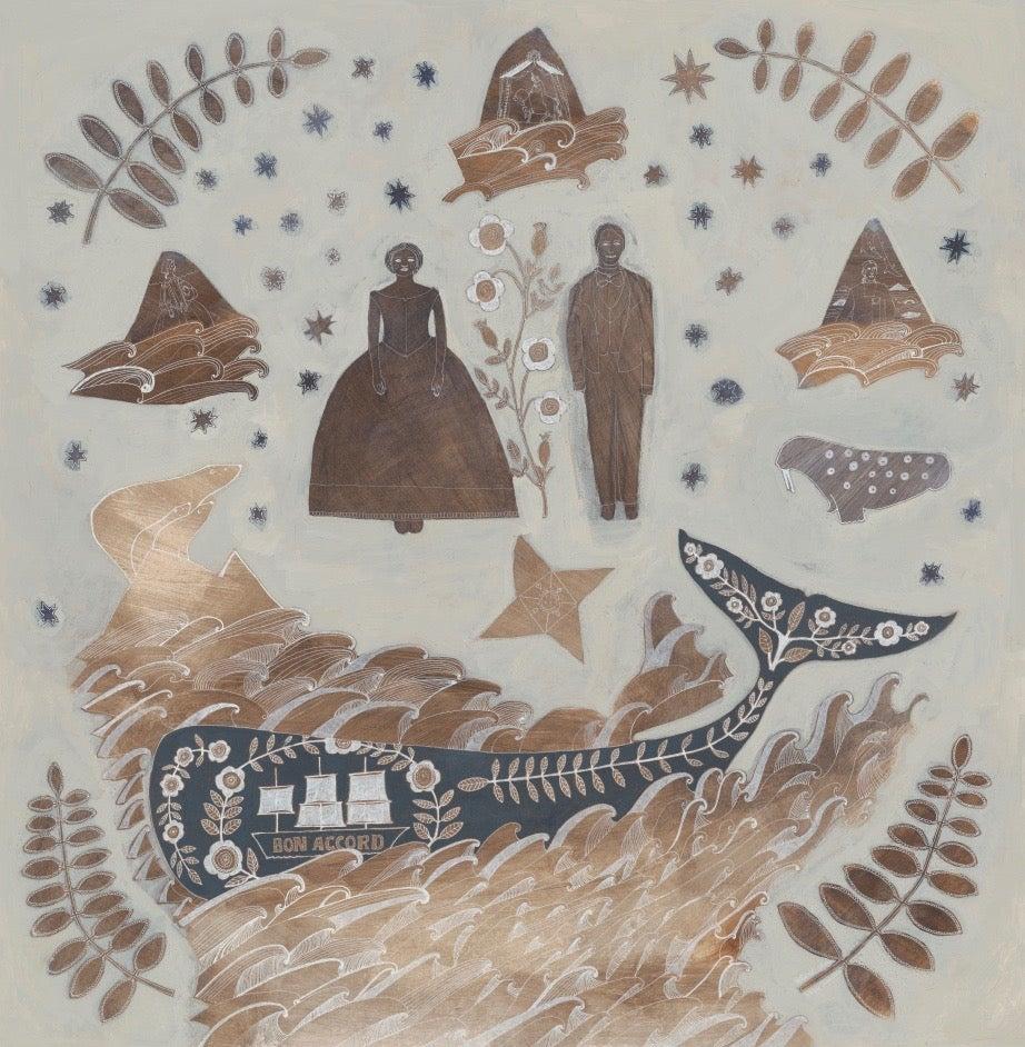 Image of Petticoat Whaler Silk Satin Scarf