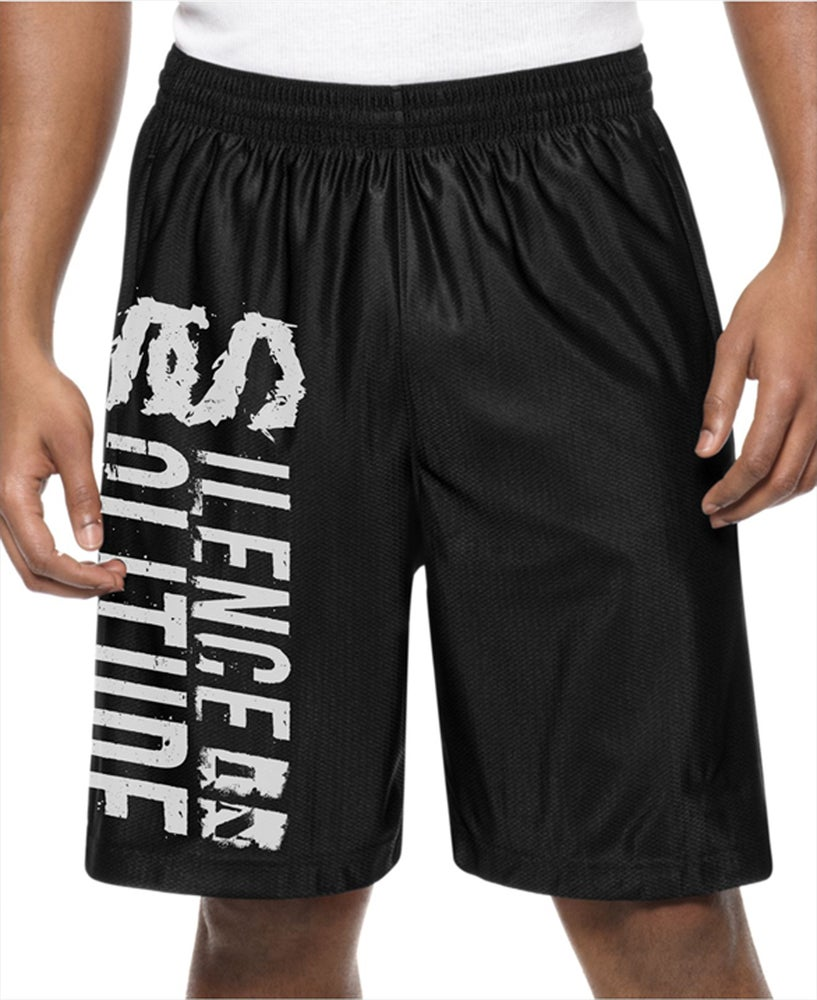 Image of Silence In Solitude Mesh Shorts