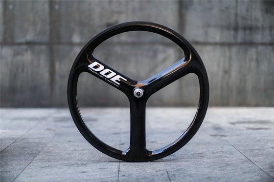 Image of DOE Track 3 Spokes Fixed gear Wheels