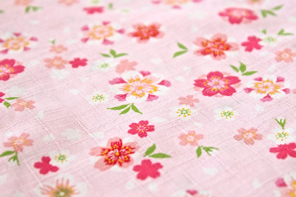 Image of Pink Blossom Baby Grow