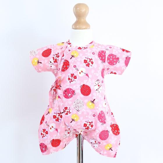Image of Pink Omatsuri Baby Grow