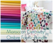 Image of Moroccan Getaway Ombre Fabric Bundle and paper pattern