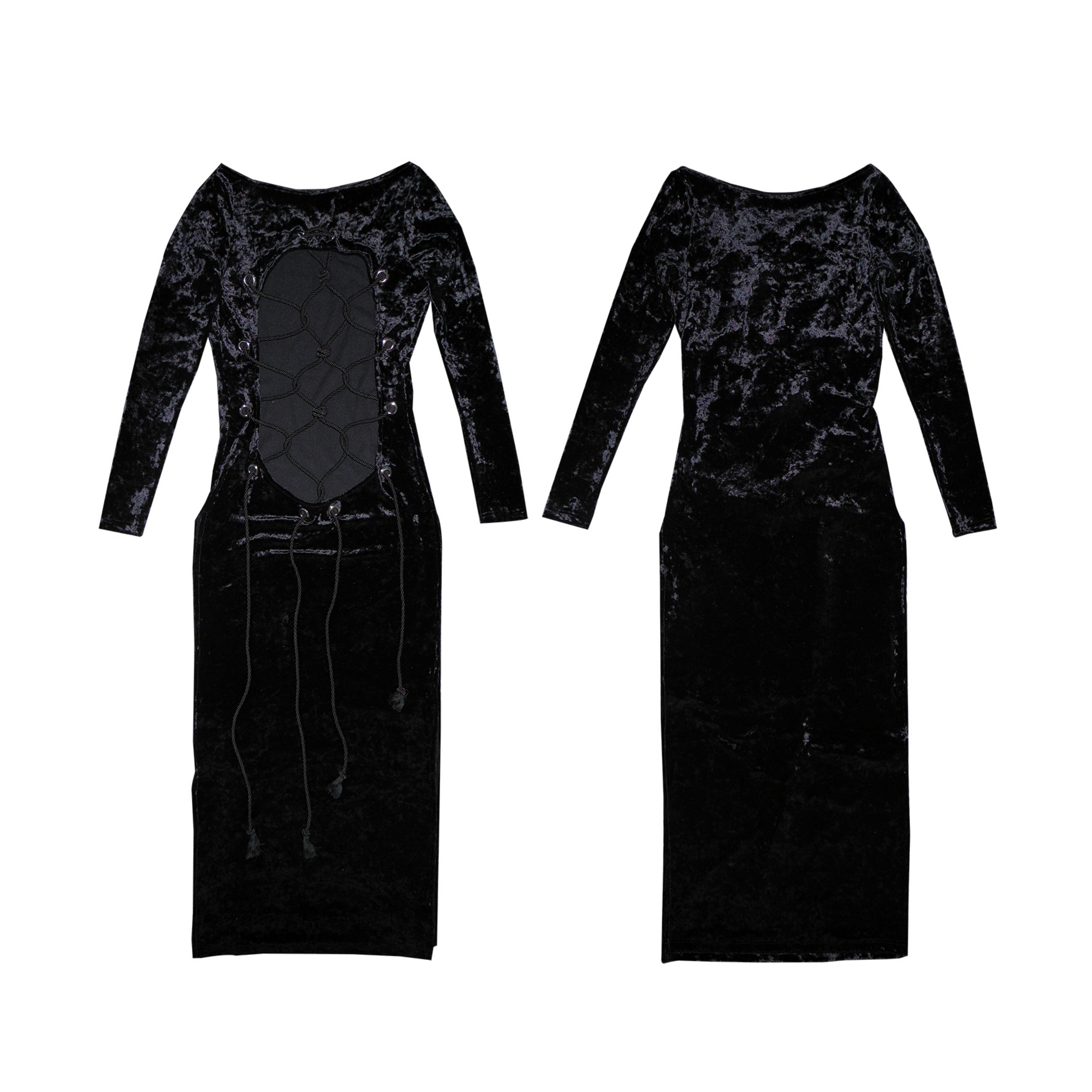 Shuriken black and white dresses