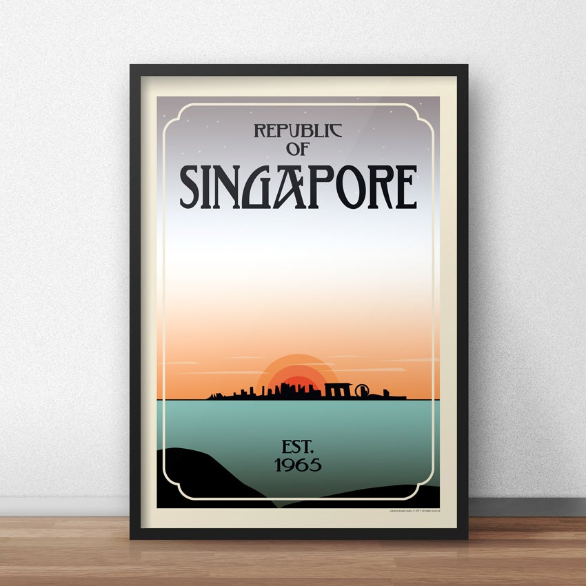 Image of Singapore Est. 1965 Poster