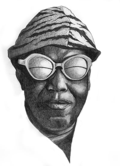 Image of Sun Ra by Jerome Link
