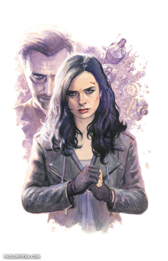Image of JESSICA JONES print