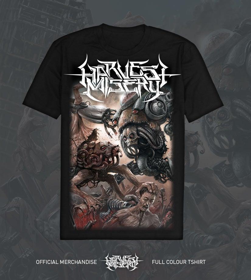 Image of Harvest Misery Album Shirt