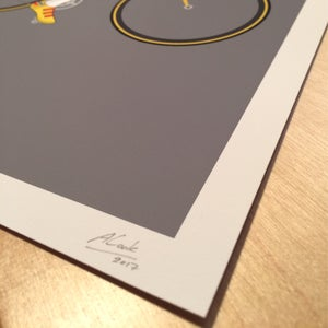 Image of Marco Pantani A3 Giclee Print