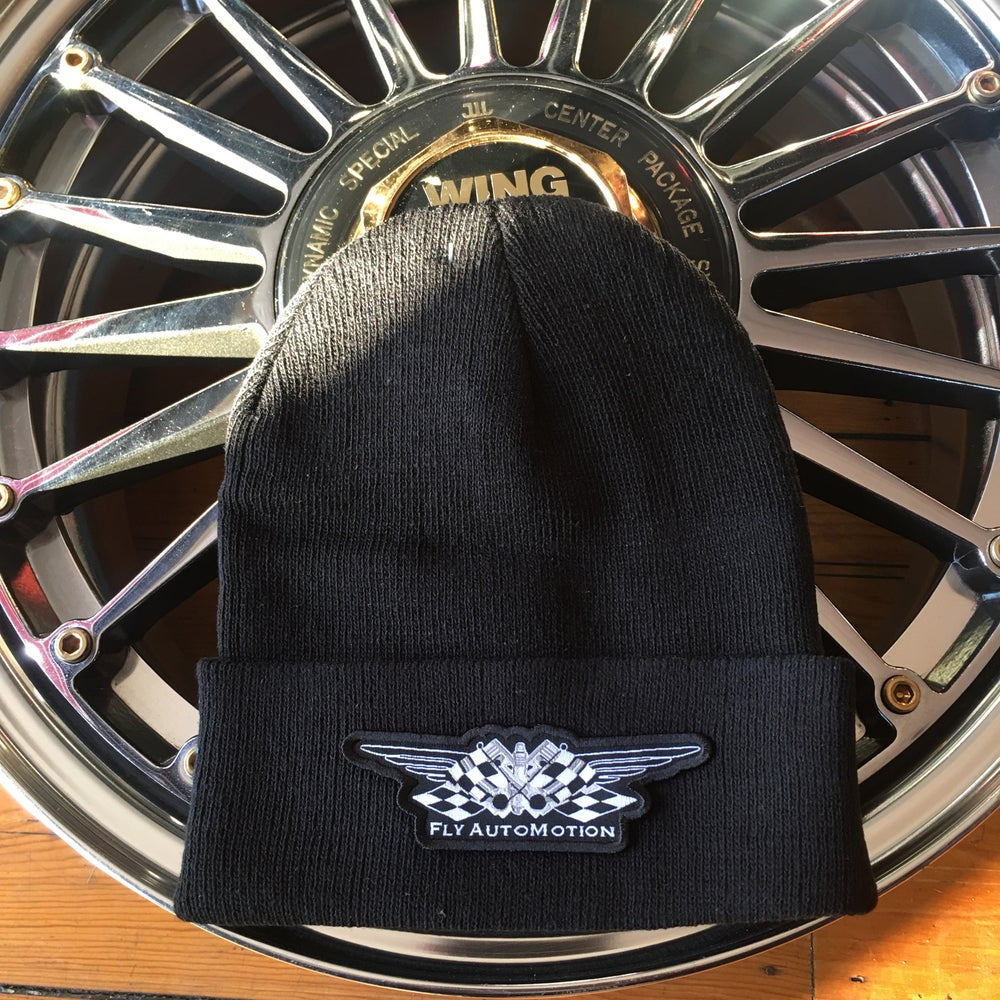 Image of Fly AutoMotion Beanie Hat.