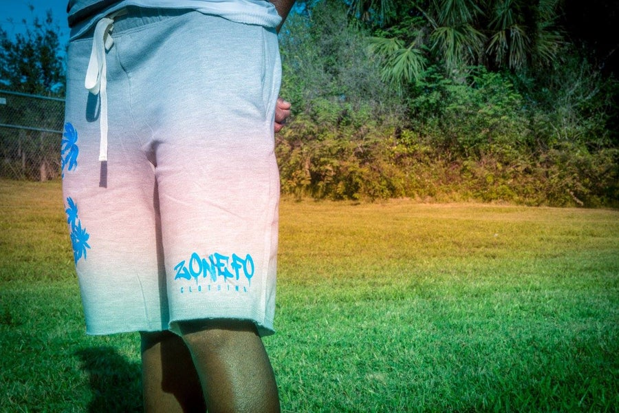 "Image of ""No Bad Days ""Fleece shorts"