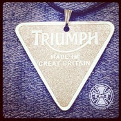Image of Triumh Patent Plate Pendant