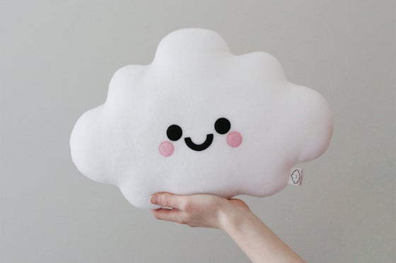 Image of White Cloud Cushion