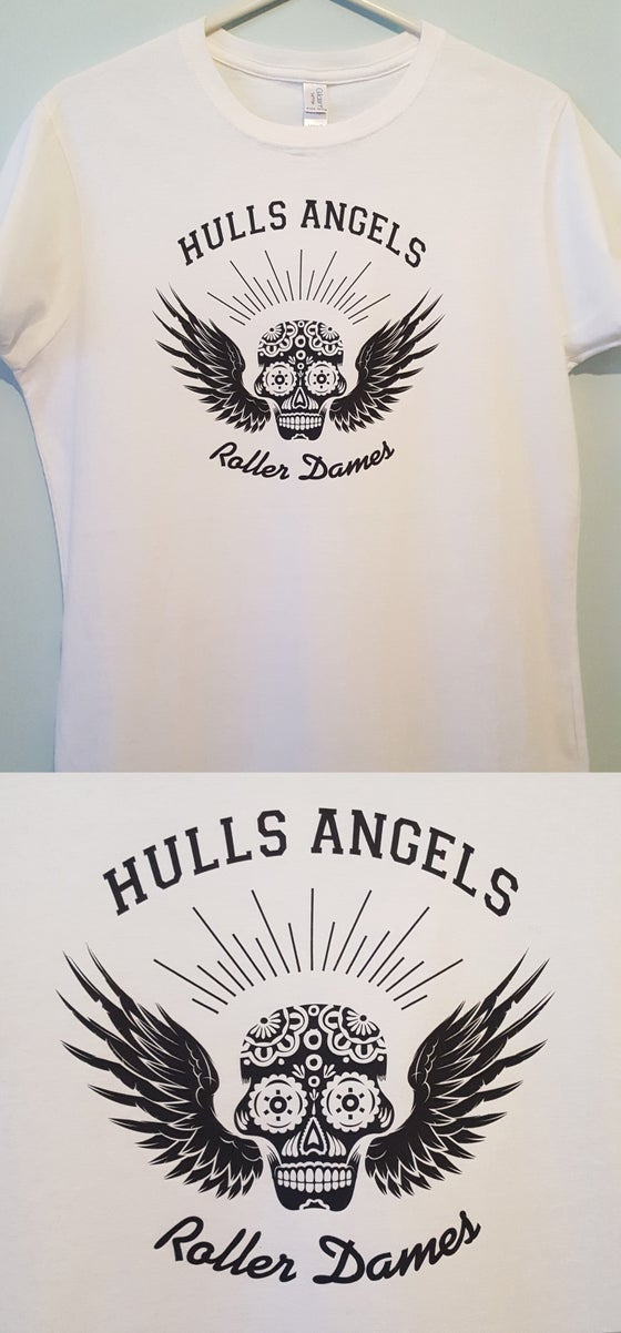 Image of HARD White Logo T-Shirt