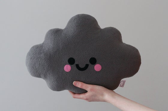 Image of Grey Cloud Cushion