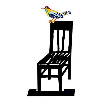 Image of Bird on Tree Metal Element