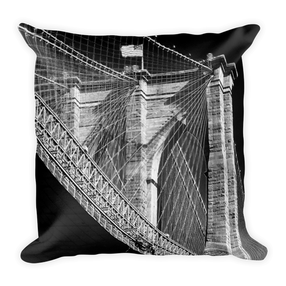 Image of Brooklyn Bridge Pillow
