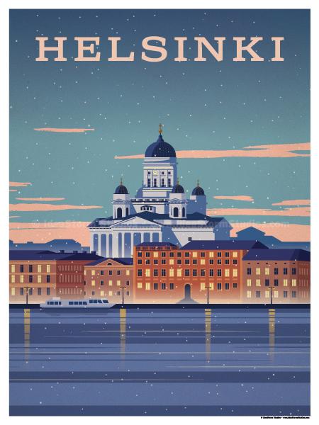 Image of Helsinki Poster